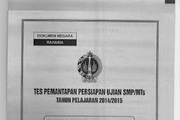 SOAL TPM PROPINSI DIY 2015 IPA (2-3 Maret 2015)