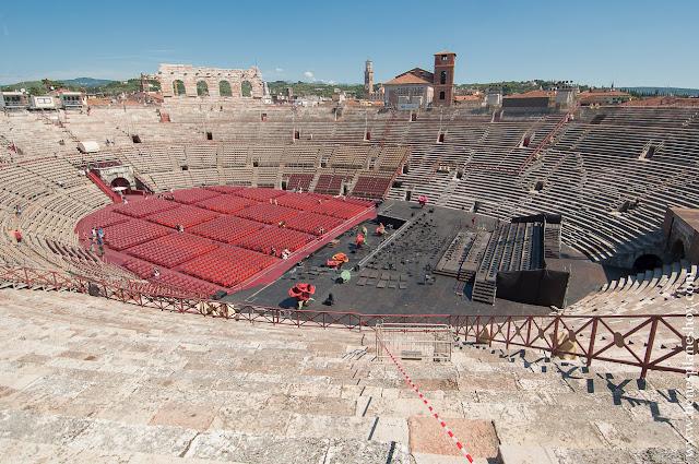 Visita la Arena Verona Italia viaje Italia