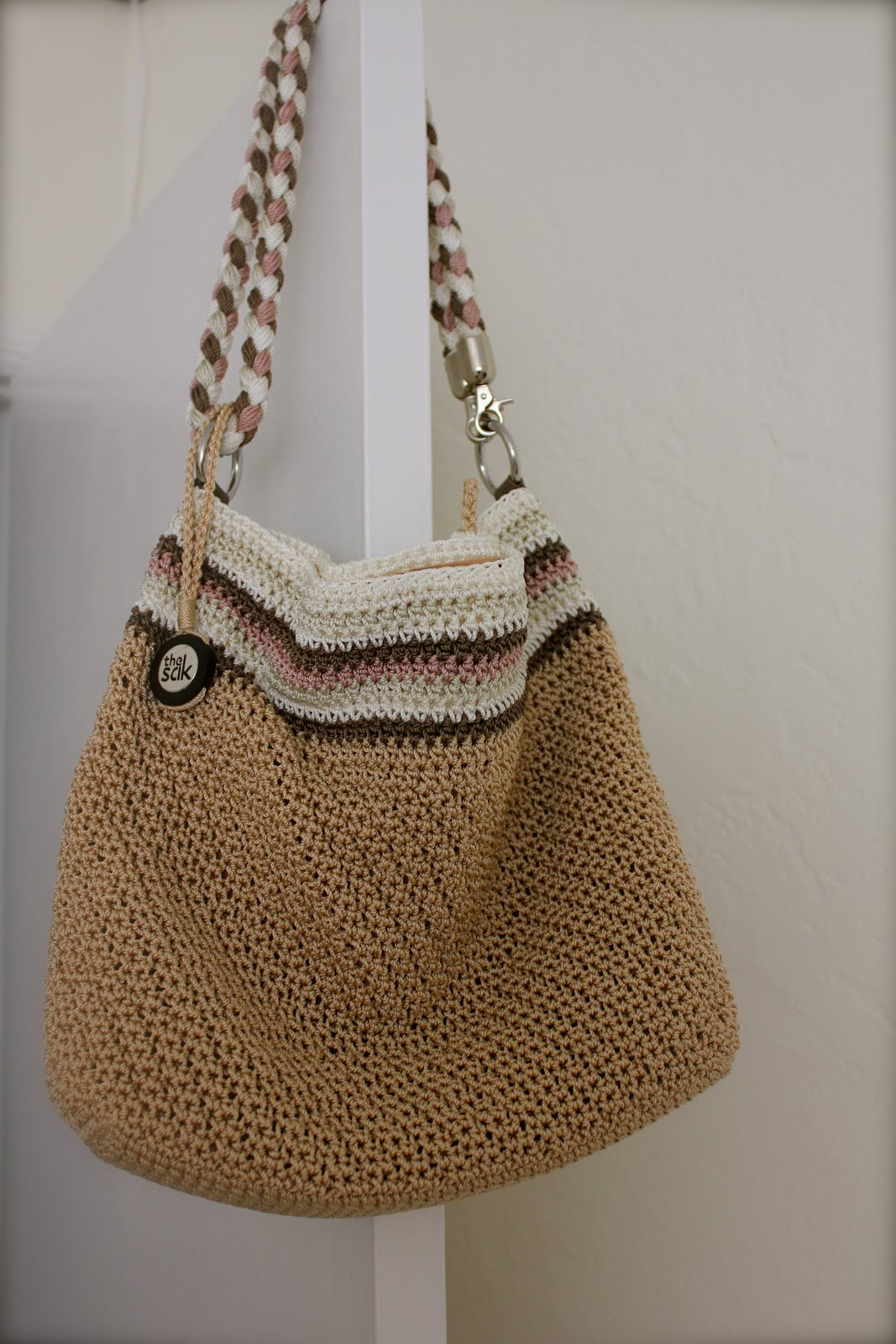 White Crochet Bag Crochet For Beginners