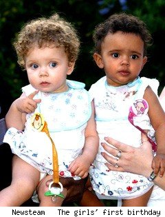 Are african babies born white