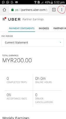 Uber statement bentuk pdf smartphone