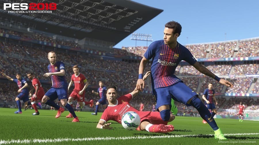 Jogo PES 2018 - Pro Evolution Soccer 2018 crackeado PC para download torrent com crack
