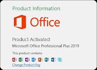 Cara Aktivasi MS. Office 2019 Secara Mudah