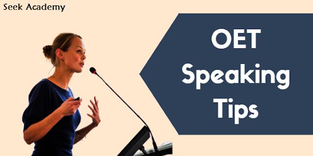 OET Speaking Test: Seek Academy