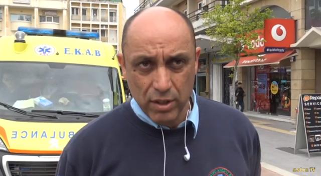 Ο Γιάννης Γούλας για την Αναστολή κινητοποιήσεων της ΠΟΠ ΕΚΑΒ, Βίντεο