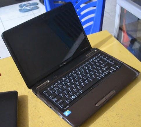 harga laptop bekas toshiba l645