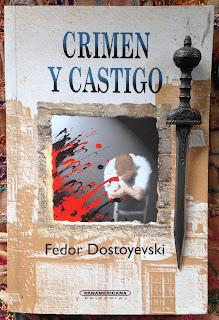 Portada del libro Crimen y castigo, de Fiódor Dostoyevski