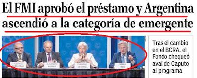 En el día de la bandera asumió el nuevo gobierno argentino que no votó nadie