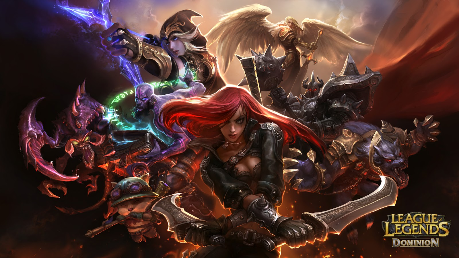 League Of Legends Wallpapers Team Katarina League Of Legends