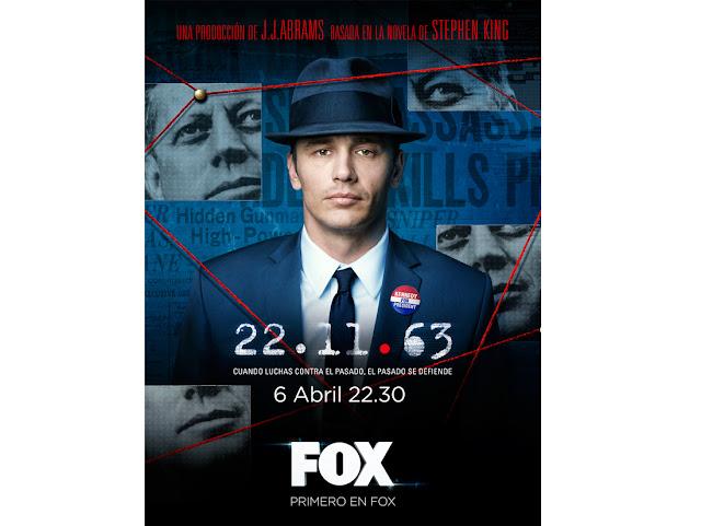 El esperado thriller televisivo '22.11.63' aterriza en España en abril