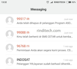 Cara UNREG SEMUA Layanan SMS yang Menguras Pulsa