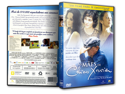 Capa DVD As Mães de Chico Xavier (Oficial)