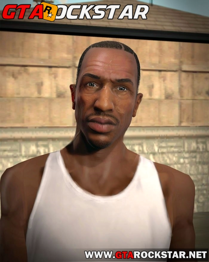 HD Carl Johnson GTA V to SA (Player.img) para GTA San Andreas