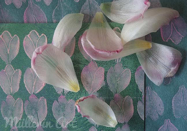 Tulpendruckmuster  © Müllerin Art