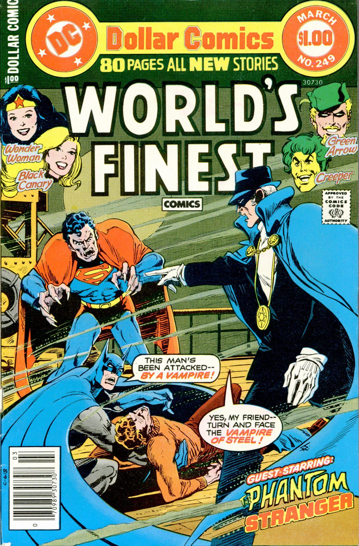 Read online World's Finest Comics comic -  Issue #249 - 1