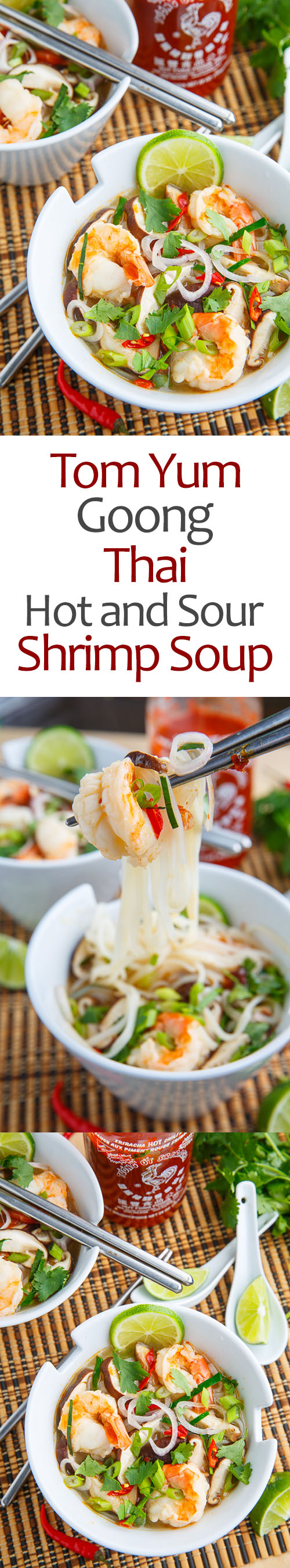 Tom Yum Goong (Thai Hot and Sour Shrimp Soup)