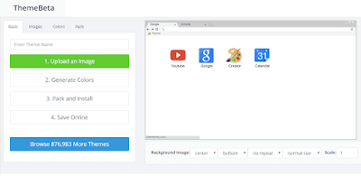 Cara Mudah Membuat Tema Google Chrome Menggunakan Themebeta