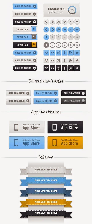 Free download: Balio Web UI Kit