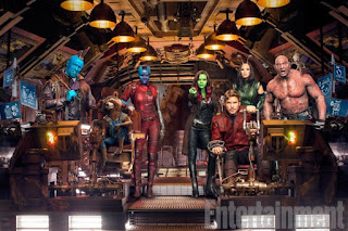 guardianes de la galaxia vol.2: nuevas imagenes con el equipo al completo