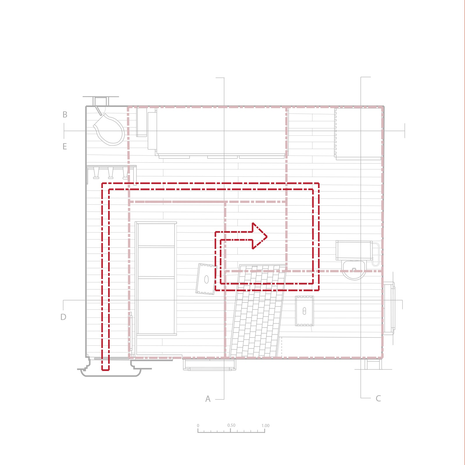 Define Floor Plan Petit Cabanon