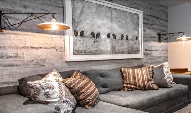 Decotips decorar con paneles de madera s o no for Paredes decoradas con madera