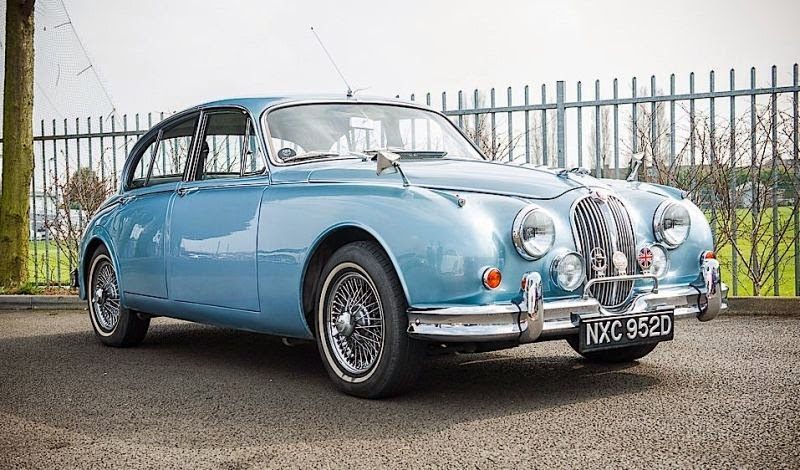 Still Original, Jaguar Mark 2 Production 1966 Auctioned