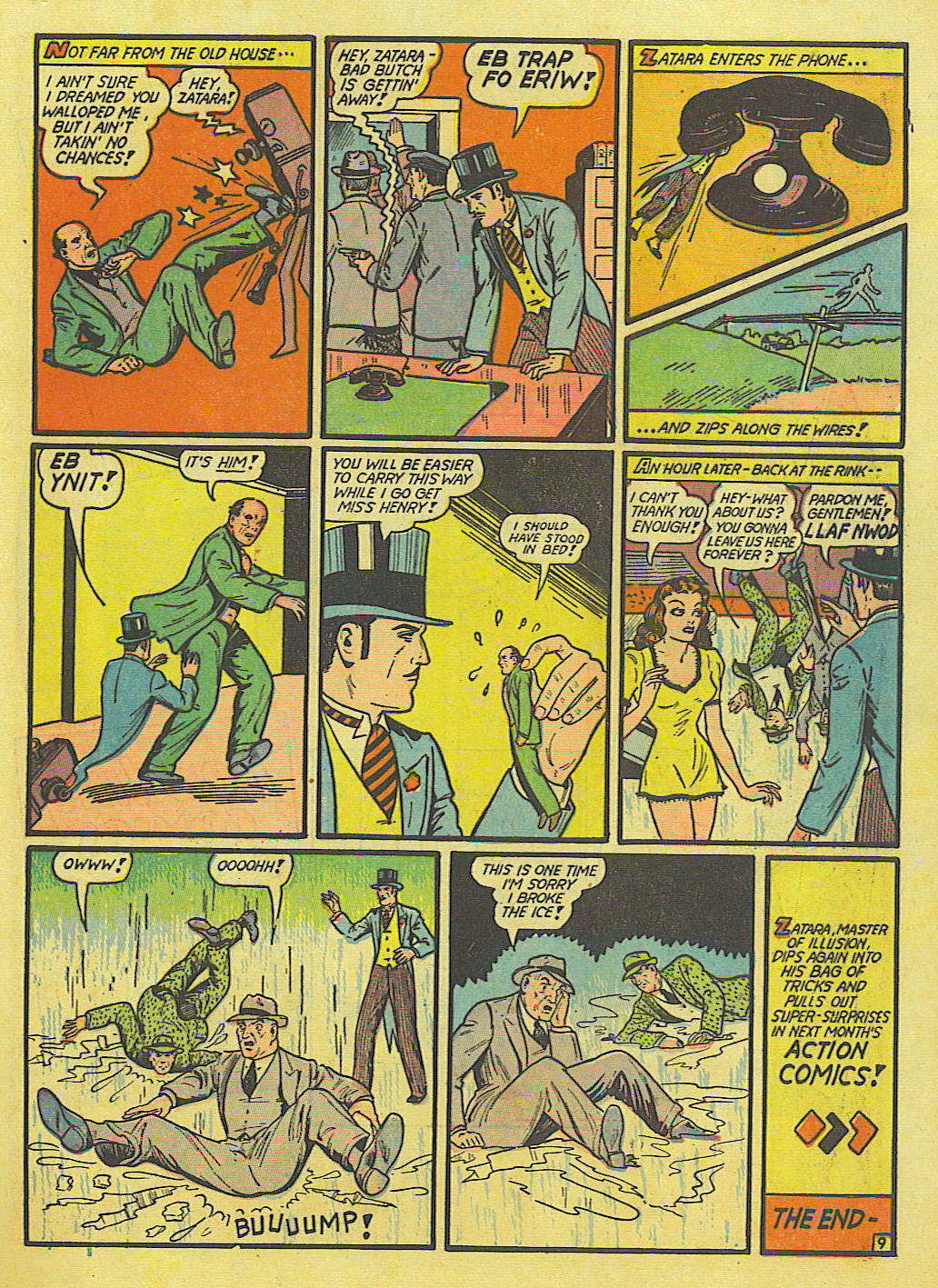 Read online Action Comics (1938) comic -  Issue #52 - 65