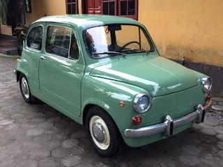 Mobil Antik Dan Langka Fiat 600D ..Monggo Para Kolektor