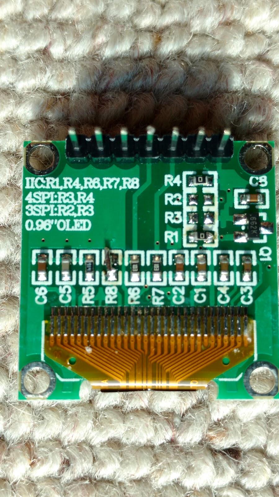Tagebuch: Drive SSD1306 OLED with I2C on ESP8266 Wemos D1 mini