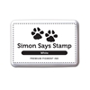 Simon Says Stamp Pigment Ink Pad WHITE
