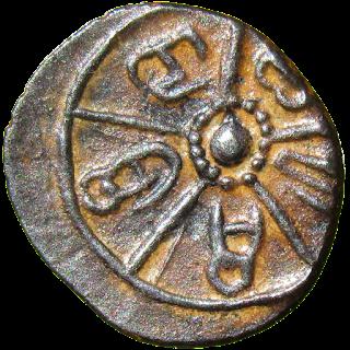 [BVS002] Coin of Kadambas of Banavasi - Sri Dosharasi