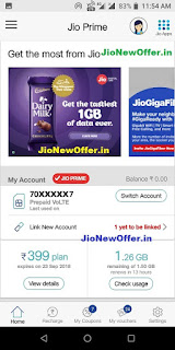 Reliance Jio Cadbury Offers - jionewoffer.in