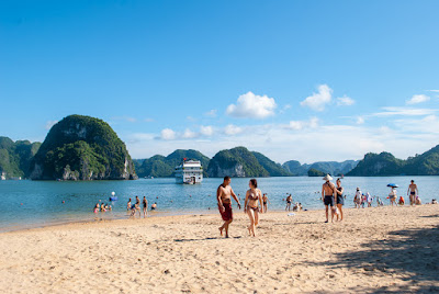 Ti Top white sand beach