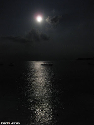 Gili Air, Indonesia full moon