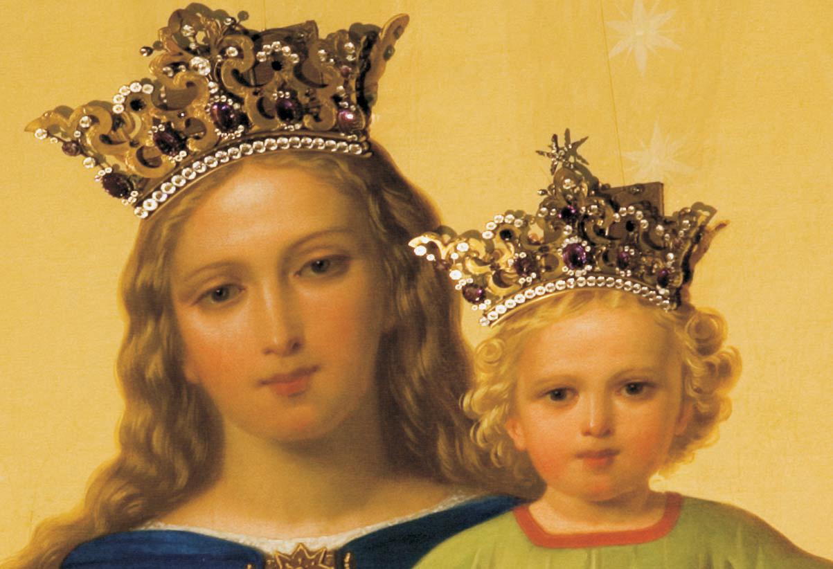 Santa María Destello Celestial: María Auxilium