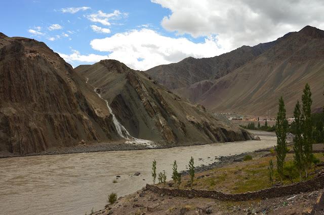 Rivière Indus au Ladakh