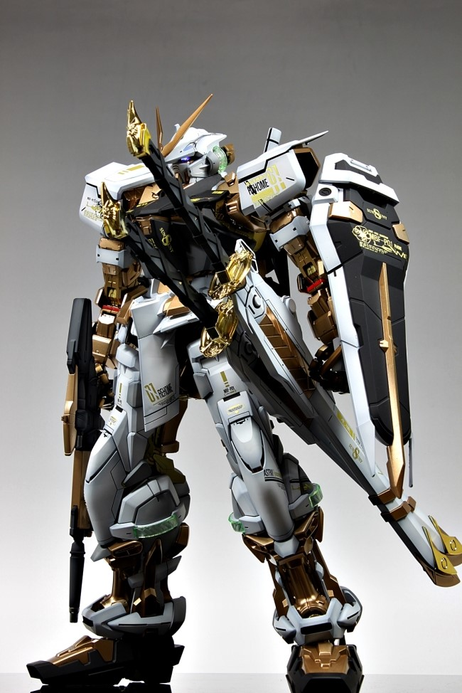 GUNDAM GUY: PG 1/60 MBF-P02 Gundam Astray [Gold Frame] - Customized ...