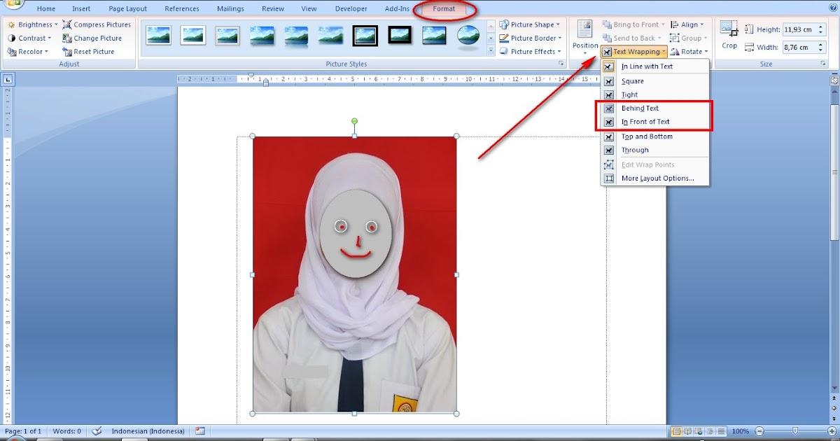 Cara Mengubah Ukuran Foto Menjadi 4x6 Di Word Berbagai Ukuran