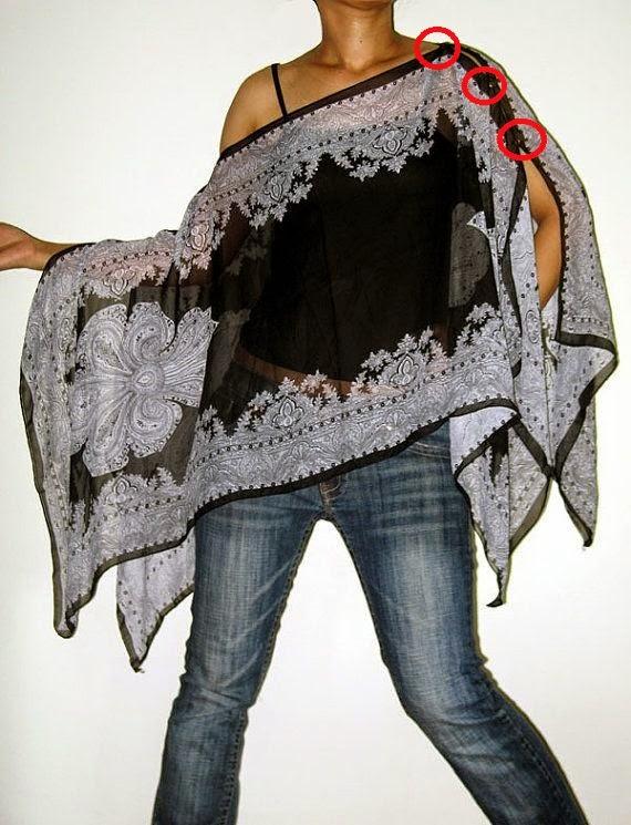 DIY fácil con 2 pañuelos. Cómo coser