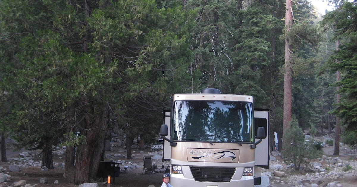 CampgroundCrazy: Lodgepole Campground, Sequoia National Park