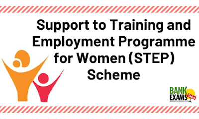 Support to Training and Employment Programme for Women (STEP) Scheme