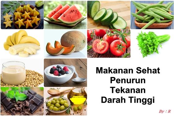 Makanan Penurun Tekanan Darah Tinggi Terlengkap