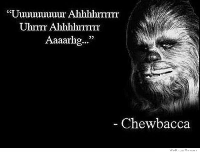 cri chewbacca
