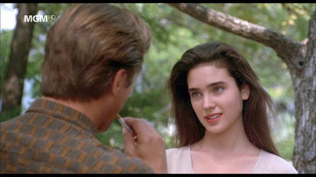 Jennifer Connelly Don Johnson The Hot Spot 1990 movieloversreviews.filminspector.com