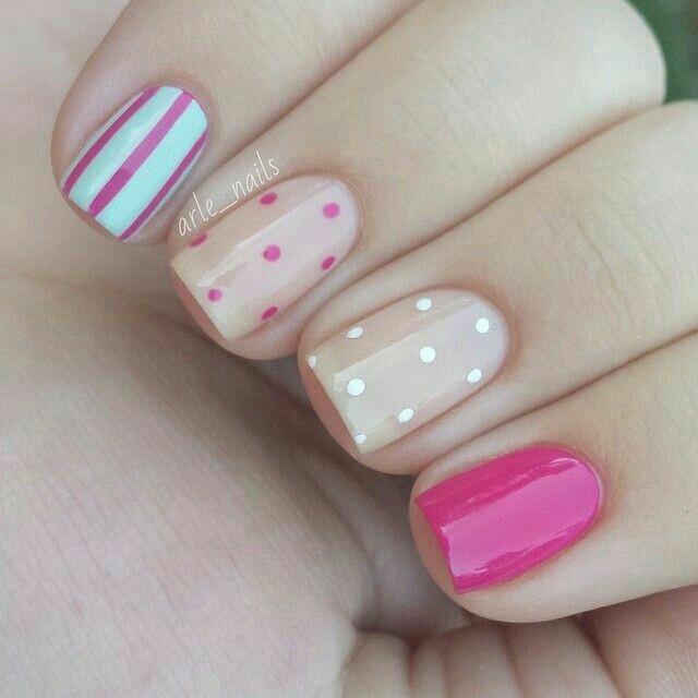 Colour nail