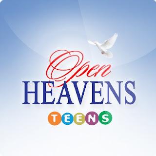 Open Heavens For TEENS: Friday 22 September 2017 by Pastor Adeboye - Demon Possessed?