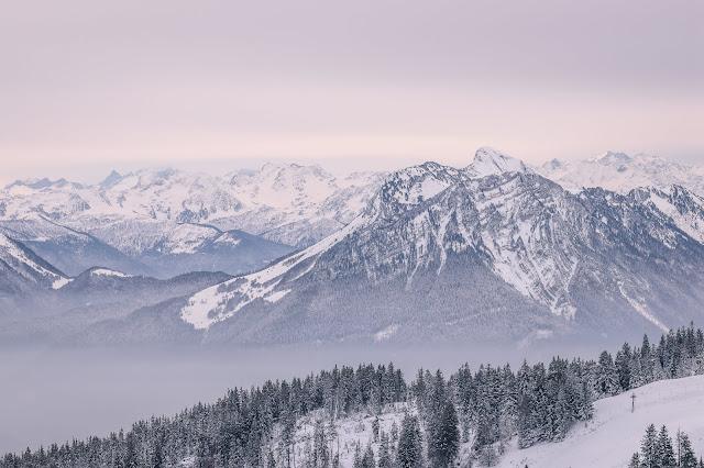 massif des Bauges, naige, alpes, alps, landscape, paysage, panorama, trekking, snowscape
