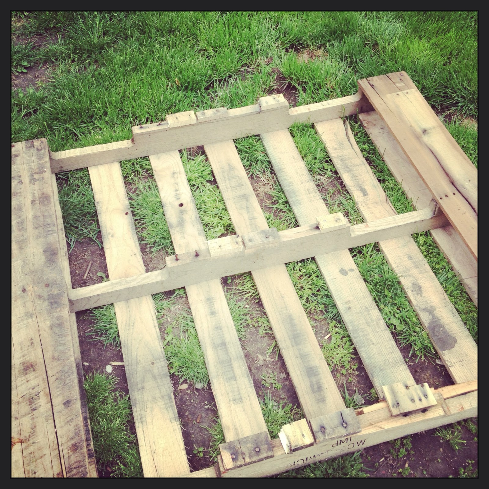 Pallet Wood Raised Garden Bed: Just Another Catholic Mom: Raised Bed Garden Boxes From