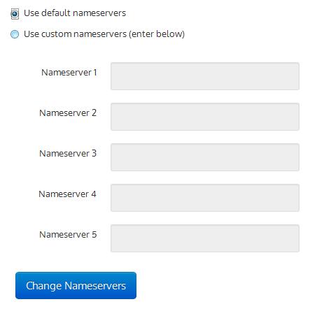 setting name server dot tk