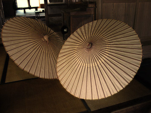 Bamboo Umbrellas Bamboo Valance Photo